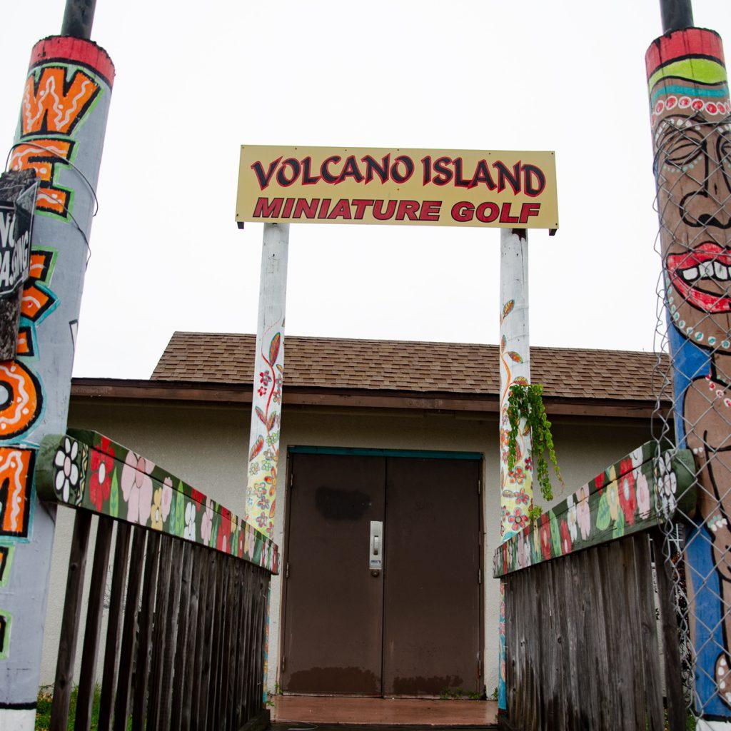 Abandoned Volcano Island
